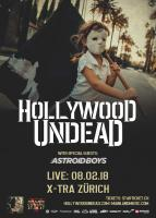 Hollywood Undead & Astroid Boys in Zürich