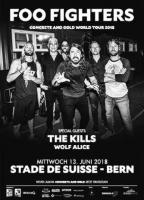 Foo Fighters, The Kills & Wolf Alice in Bern