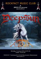 Rockfact Music Club & IRON-T21 pres: Deep Sun & Askara