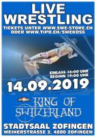 Swiss Wrestling Entertainment mit Show in Zofingen inklusive
